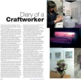 CraftandDesign Diary entry Issue 214 Mar-Apr 2011