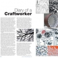 CraftandDesign Diary entry Issue 215 May-June 2011