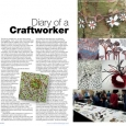 CraftandDesign Diary entry Issue 216 July-Aug 2011