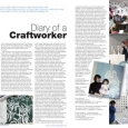 CraftandDesign Diary entry Issue 217 Sept-Oct 2011