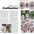 CraftandDesign Diary entry Issue 218 Nov-Dec 2011