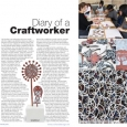 CraftandDesign Diary entry Issue 219 Jan-Feb 2012