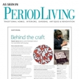 Period Living Behind the Craft article - September 2010