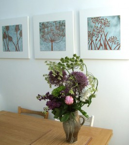 Janine Partington - vitreous enamel artist