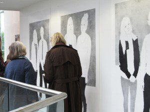 Drawing and Applied Arts degree show, UWE, Bristol, 2012