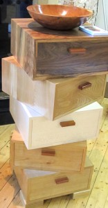 furniture by John Jacques at Inspired exhibition at Ashton Court Estate