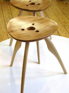 furniture at Inspired exhibition at Ashton Court Estate