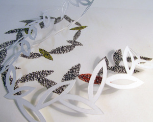 Cut Fold Construct 14 - drawing and paper cut by Janine Partington