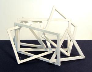Cut Fold Construct 2 - paper sculpture by Sarah Heenan