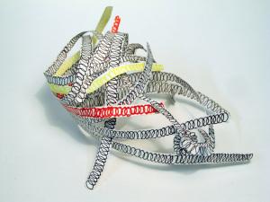 Cut Fold Construct 3 - a paper sculpture doodle by Janine Partington