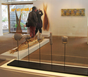 General view of Re-making the Past exhibition at Devon Guild of Craftsmen