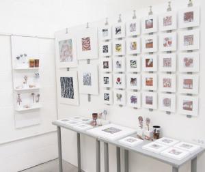 Enamel display by Janine Partington