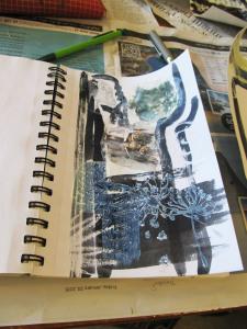 Maureen Carswell's sketchbook