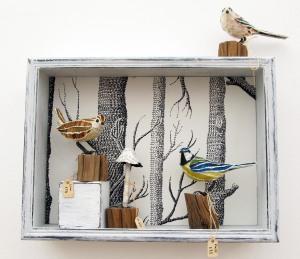 Suzanne Breakwell paper sculpture